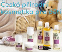 Naturmetika - eshop, kde najdete i českou přírodní kosmetiku pro děti